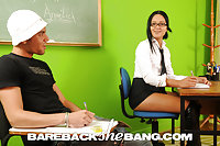 Shemale Barebacking In Classroom