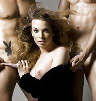Pics for Playboy with Carolina