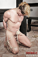 Bound Serf Against 3 Ts Dommes16