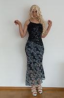Loli in evening dress