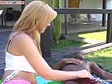 Interracial Transsexual Outdoor Delights