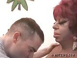Ugly shemale Carmen de Mairena gets fucked by horny guy