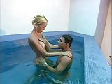 Hot Renata with guy bareback