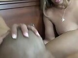 TRIPLE TRANNY THREESOME!! THEY POUND HIM GOOD!