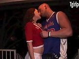 TS Cheerleader Hazel Tucker anal ripped