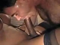 Black shemales dong for white dude sucking