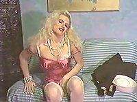 Vintage TS In Erotic Movie