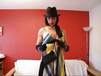 Admirable Solo By A Hot Crossdresser