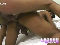 Black Busty Tranny Gets Mutual Fuck Before Cumming