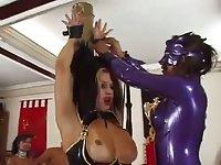 Fetished orgy