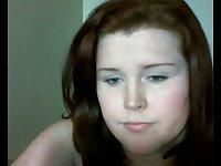 Cam pretty redhead tranny
