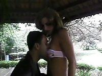 Tempting Larissa gets drilled