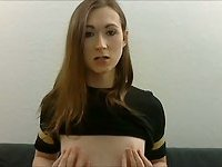 Shy tranny webcam solo