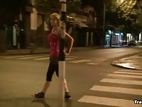 Tranny on the street
