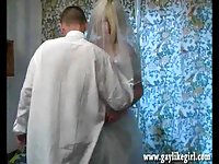 CD bride gets an anal