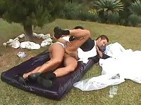 Horny couple decided to fuck after wedding