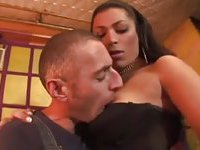 Lingeried chick gets deep anal penetration
