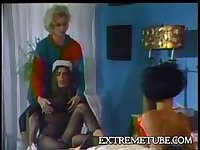 Watch this hot vintage act and relax