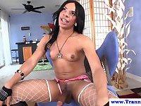 Sasha Strokes making herself cum