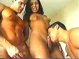 Small Tits Shemale Pounding Guy Till Cumshot
