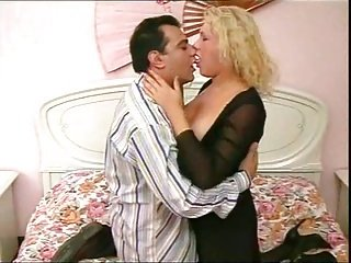 Mature tranny fucked by stud