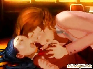 Cute anime deep fucked by shemale babe