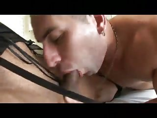 Dude and sexy Tgirl screw each other