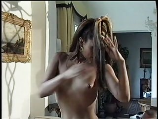 Vampy tranny is eager to fuck