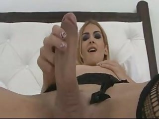 This blondie waits for your cock
