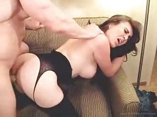 Big tits Nataly gets drilled