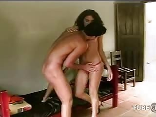 Mutual fucking with a flatchested tgirl bitch