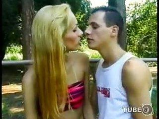 Slender latina TS drills a guy till he cums