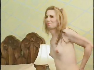 Small tited tranny wants some orgy