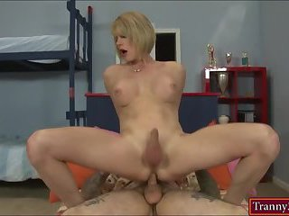Big boobs tranny Delia De Lions analyzed